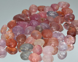 100.14 Cts Natural Spinels Multicolr Polished Tumbled Lot
