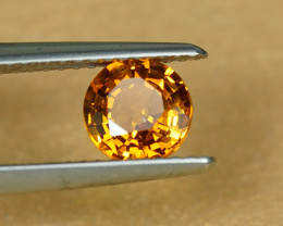 1.20CT BRIGHT YELLOW SAPPHIRE with EXCELLENT FIRE