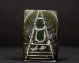 59.22ct Natural Burmese Jade  Buddha Carving