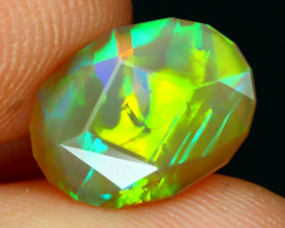 Welo Opal 1.81Ct Master Cut Natural Ethiopian Neon Flash Welo Opal A2702