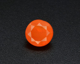 Mexican Fire Opal  0.92 Cts Faceted Gemstone