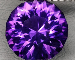 5.60 CTS  NATURAL PURPLE AMETHYST CUSTOM CUTTING TOP COLOR