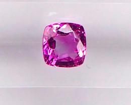 0.9ct unheated pink sapphire