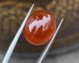 Gil certified 15.85 Carats Natural Spessartite Garnet Cabochon