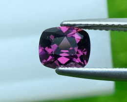 Spinel 1.48 Cts  Purple Portuguese cut BGC1464 | From Burma