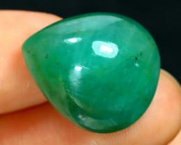 Emerald 15.92Ct Natural Zambian Green Color Emerald B2803