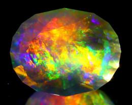 ContraLuz 13.27Ct Oval Cut Mexican Very Rare Species Opal B2807