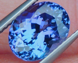 3.09cts Blue Tanzanite,