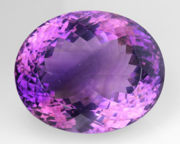76.46Ct Amethyst Excellent Cut Top Quality Gemstone.AT 01