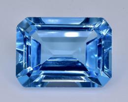 13.91 Crt Topaz Faceted Gemstone (Rk-20)