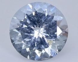 2.33 Crt Aquamarine Faceted Gemstone (Rk-20)