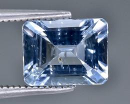 1.93 Crt Aquamarine Faceted Gemstone (Rk-20)