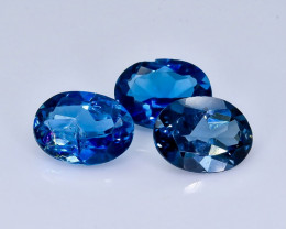 4.15 Crt London Blue Topaz Lot Faceted Gemstone (Rk-20)