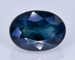 1.27 Crt Natural Sapphire Faceted Gemstone.( AB 30)