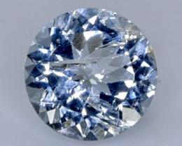 1.61 Crt Natural Aquamarine Faceted Gemstone.( AB 30)