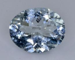 2.24 Crt Natural Aquamarine Faceted Gemstone.( AB 30)