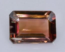 1.40 Crt Natural Tourmaline Faceted Gemstone.( AB 30)