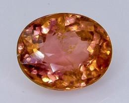 1.92 Crt Natural Tourmaline Faceted Gemstone.( AB 30)