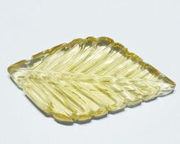 29.95 ct Exclusive Gem  Flower Fancy Cut Natural Fluorite