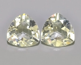 5.35 CTS FINE QUALITY_LUSTROUS -NATURAL WHITE COLOR TOPAZ