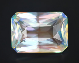 8.58 CT MOONSTONE RAINBOW COLOR PLAY 100% CLEAN NATURAL UNHEATED