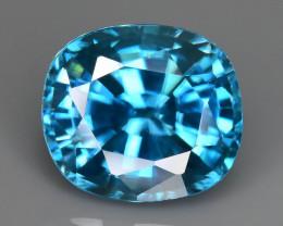 AAA Brilliance 4.45 ct Blue Zircon SKU.17