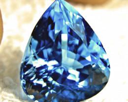 37.18 Ct. Blue Brazilian VVS Topaz - Gorgeous