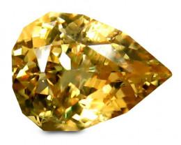 Sapphire 0.92 Cts  Yellow Signature Geo Cut BGC352 | From Srilanka