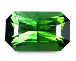 Tourmaline 1.32 Cts  Vivid Green scissors cut BGC2341 | From Brazil
