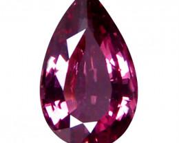 Spinel 1.46 Cts No Heat Pink Purple Step cut BGC2290 | From Tanzania
