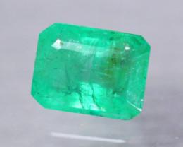 2.61ct Natural Zambia Green Emerald Octagon Cut Lot LZ7951