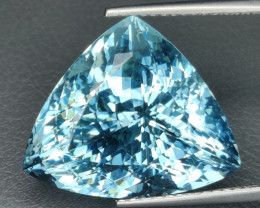 45.80 cts~Surprising Outstanding Natural Apatite neon bluish green