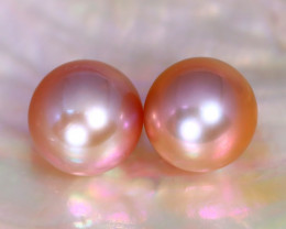 8.1mm 7.43Ct Natural Australian South Sea Pink Color Pearl A2919