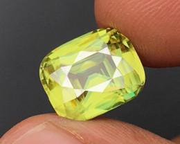 5.96 CT SPHENE DIAMOND LUSTER 100% NATURAL UNHEATED MINE  MADAGASCAR