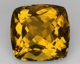 20.27Ct Natural Honey Quartz Top Class Top Cutting Gemstone. HQ 09