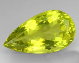 33.82Ct Natural Lemon Quartz Top Class Top Cutting Gemstone. LQ 03