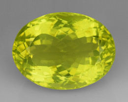 23.33Ct Natural Lemon Quartz Top Class Top Cutting Gemstone. LQ 08