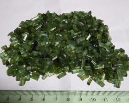516 carats Chrome Green tourmaline facet grade rough JABA