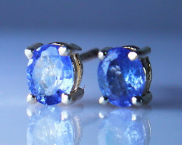 4.70 CTs Natural & Unheated~ Tanzanite Earrings Pair