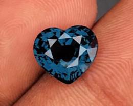 3.11 CT SPINEL BLUE HEART 100% NATURAL UNHEATED MINE SRI LANKA