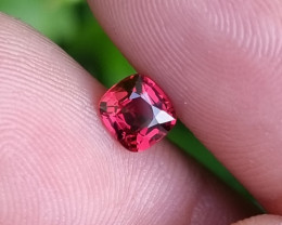 NO TREAT 0.61 CTS NATURAL STUNNING TOP QUALITY JEDI RED SPINEL BURMA