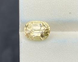 2.60 cts Natural Yellow Tourmaline Good Quality Gemstone