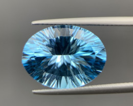 12.35 Cts Excellent Blue Topaz. Tpz-005