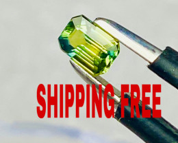 SAPPHIRE GREEN-YELLOW-BLUE RARE - SHIPPING FREE -  I DISCONNECT MY COLLECTI