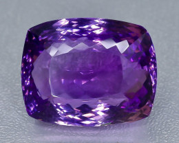 33.32 Crt Amethyst Faceted Gemstone (Rk-21)