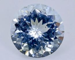 2.45 Crt Aquamarine Faceted Gemstone (Rk-21)