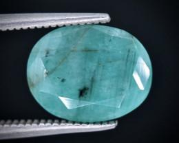 3.64 Crt Emerald Faceted Gemstone (Rk-21)