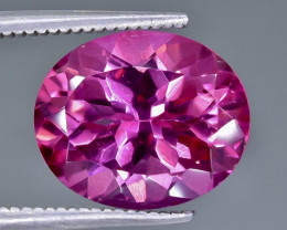 5.77 Crt Pink Topaz Faceted Gemstone (Rk-21)