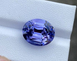 11.39 CTs Flawless Tanzanite Collector Piece