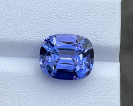 8.46 CTS Perfect Flawless Color Tanzanite Gem